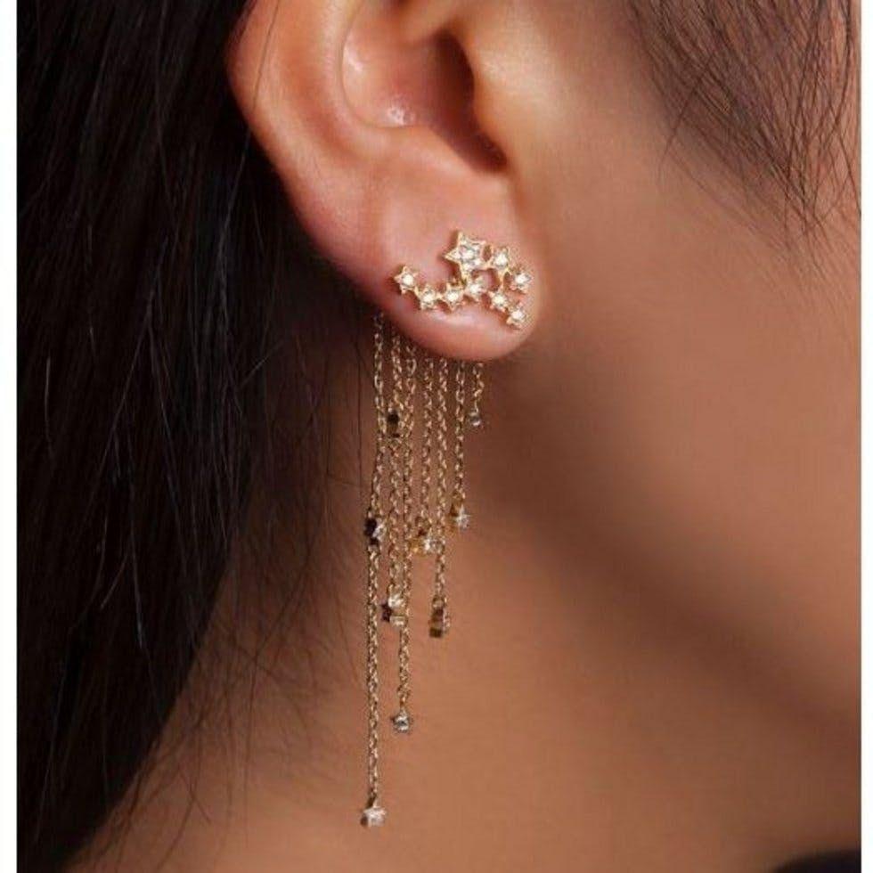 2nd ear piercing ideas  Get on board with the latest piercing trend  jewellery  Pinterest