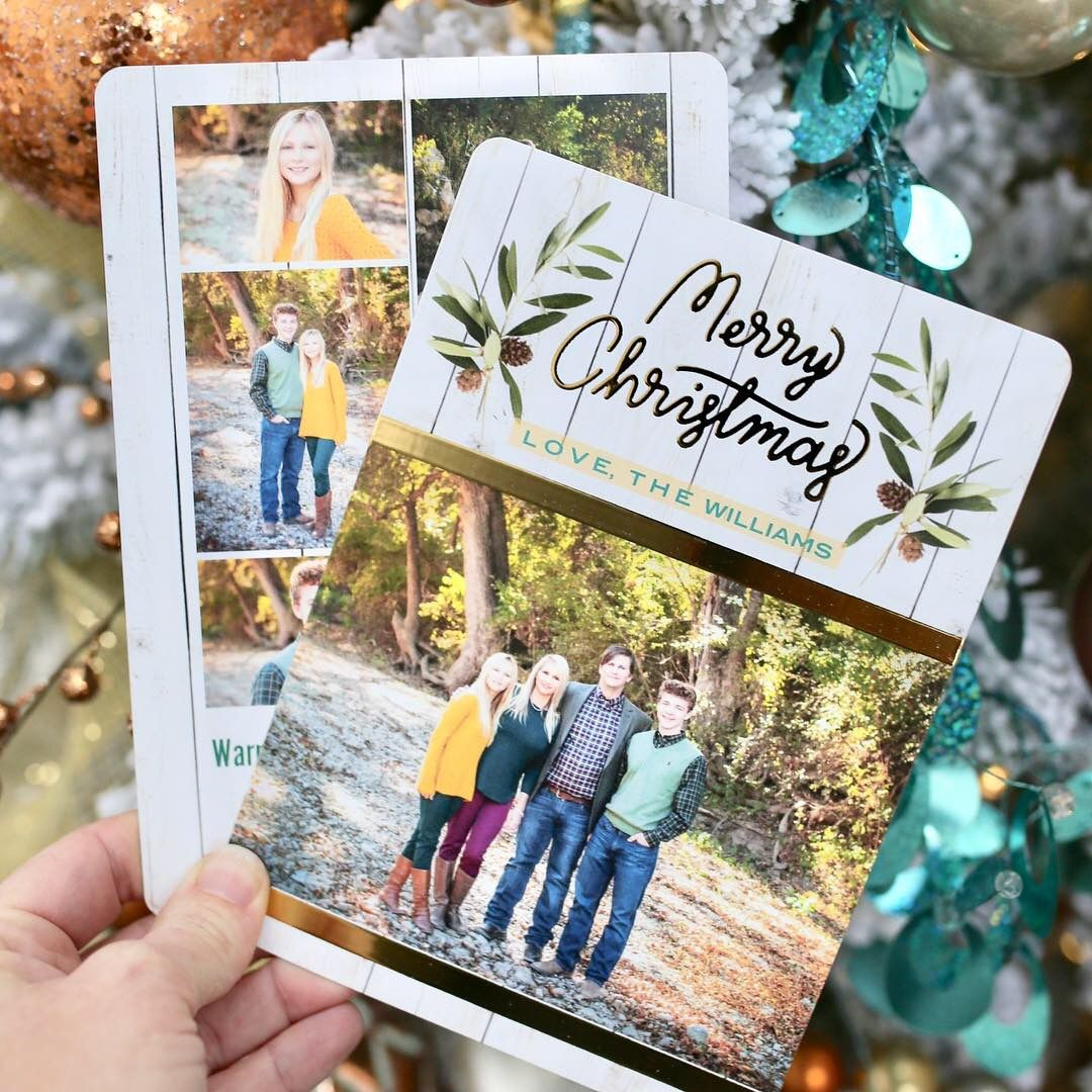 It S Never Too Early To Start Planning Your Holiday Cards Shop Our Holiday Foil Cards Unique Holiday Cards Holiday Photo Cards Homemade Holiday Cards
