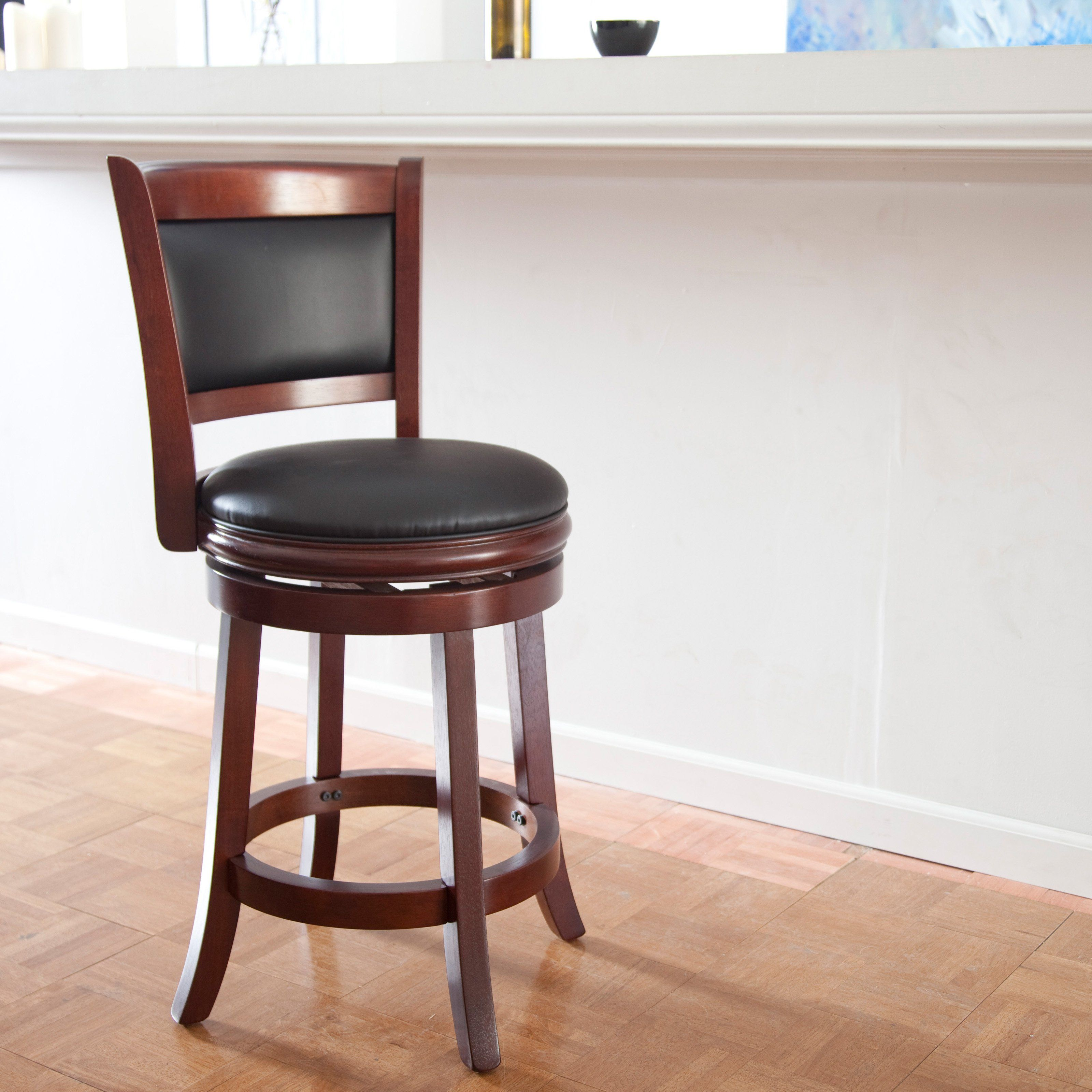 Boraam Augusta 24 In Swivel Counter Stool For The Home Stool