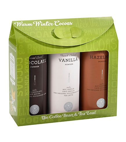 Winter Cocao Gift Set From Coffee Bean Tea Leaf 18 95 Tea Gifts Cocoa Gift Coffee