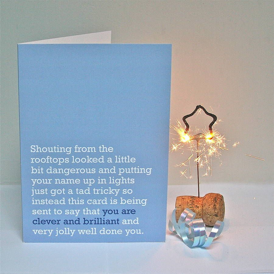 You are clever and brilliant congratulations card a jolly lovely congratulations card for someone whos been a bit briliant passing a test graduations new jobs or just generally being rather clever kristyandbryce Image collections