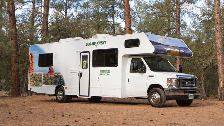 Cruise America Large RV Rental Model Rent in Mesa/Phoenix