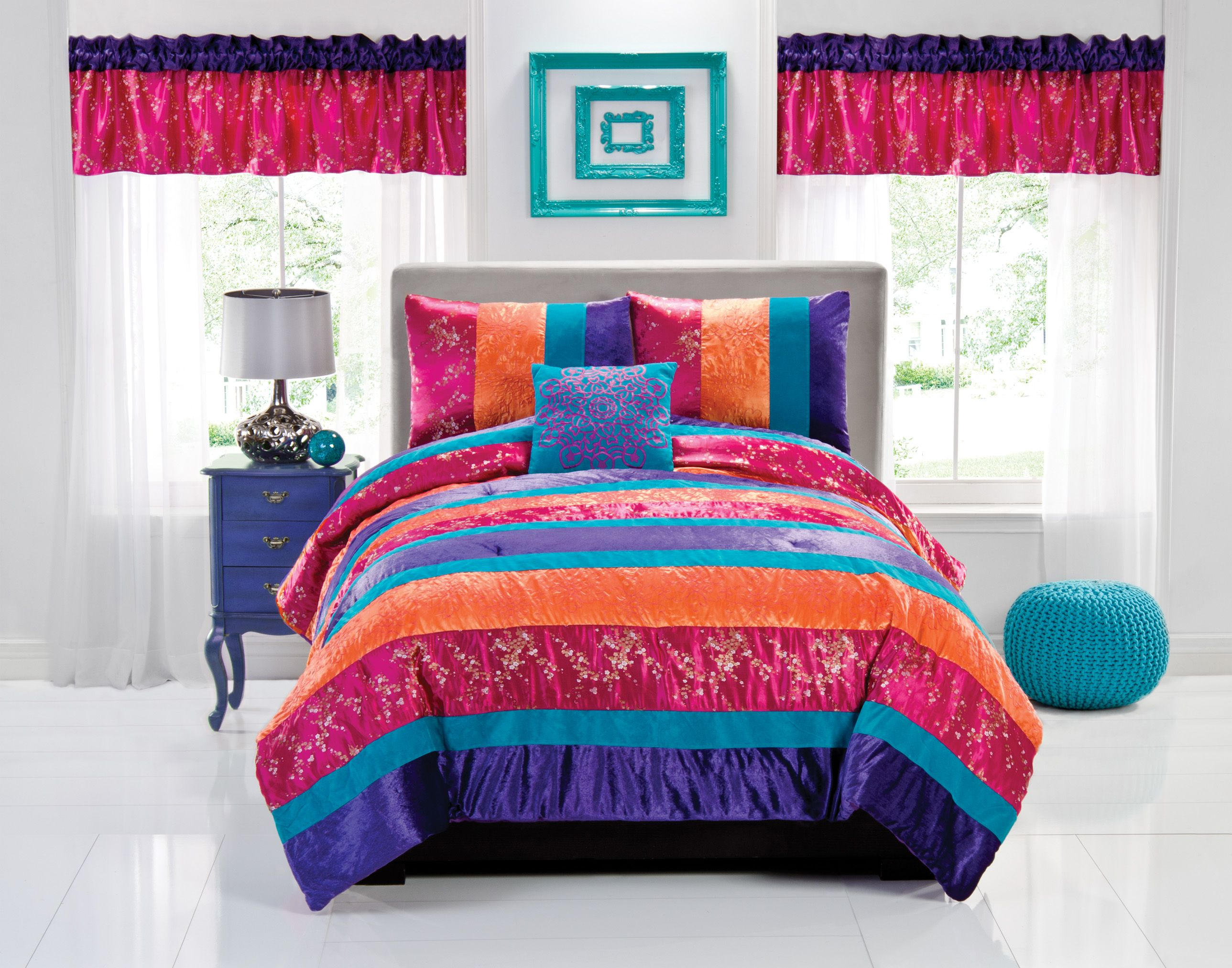 girls bed forters home decoration ideas Pinterest