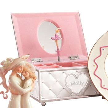 Personalized Childhood Memories Ballerina Jewelry Box by ...