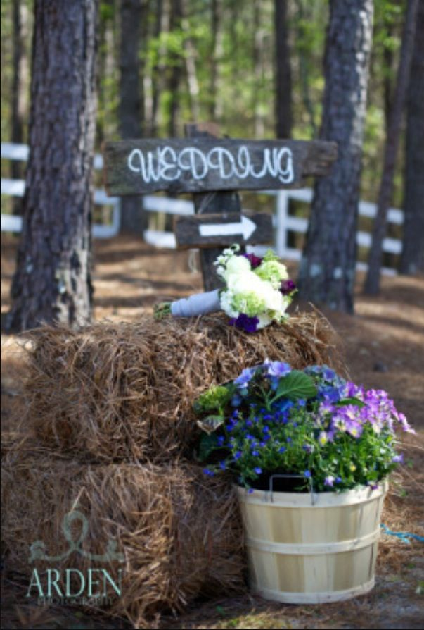 Country style Alabama wedding