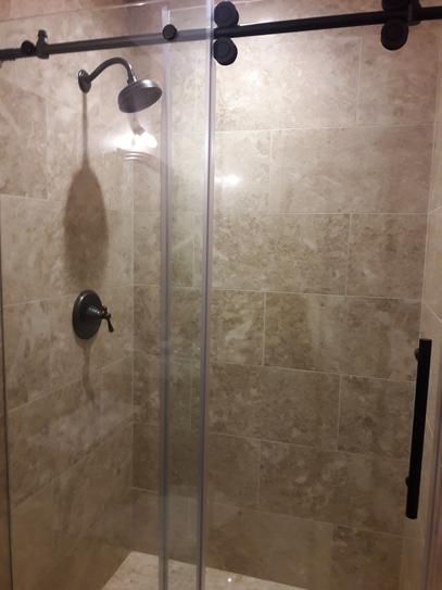 Aston Langham 48 In X 75 In Completely Frameless Sliding Shower
