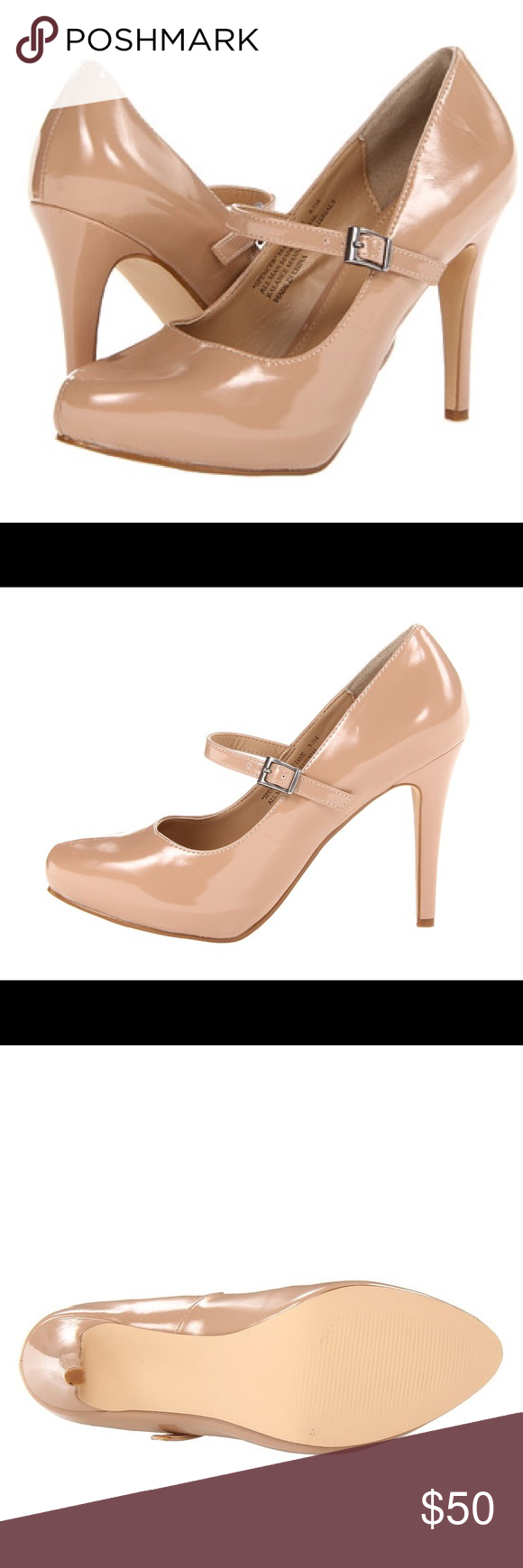4725abdce485 NIB RSVP  Spencer  Mary Jane pump Brand new in box. Patent Mary Jane pump  in nude. Perfect condition and gorgeous! Rsvp Shoes Heels