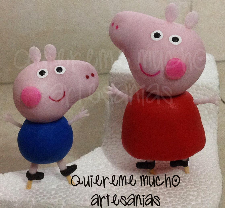 PEPPA Y GEORGE PORCELANA FRIA