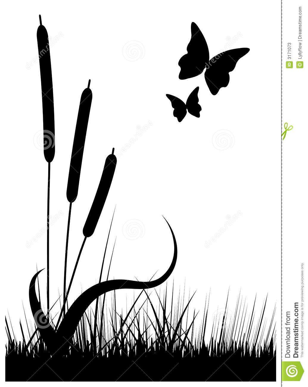 silueta de paisaje | Ideas para decorar con vinilos y plantillas ...