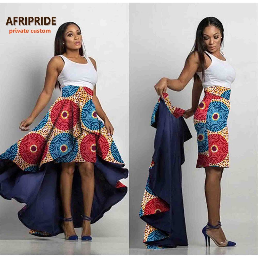 Click to buy ucuc afripride private custom female skirt midi