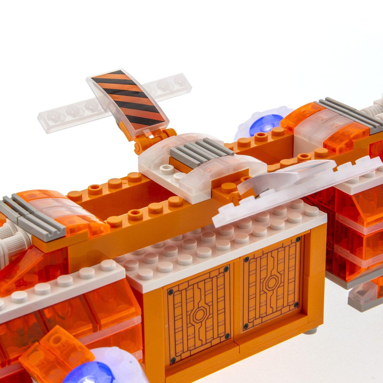 Laser Pegs Mars Shuttle Light Up Building Kit (280 pieces