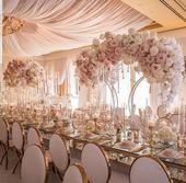 Metal Wedding Arch-4' Wedding Arch Table Decor-LG Arch Stand For Floral Arrangement Centerpie...