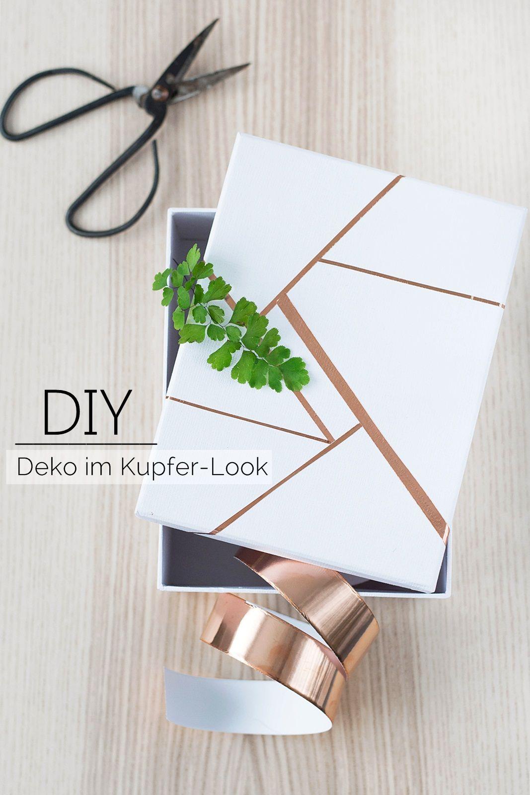 die schönsten diy projekte mit kupfer | diy | pinterest | diy deko