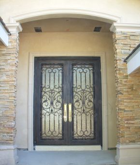 Superieur Wrought Iron Entry Door   What About Something Like This?