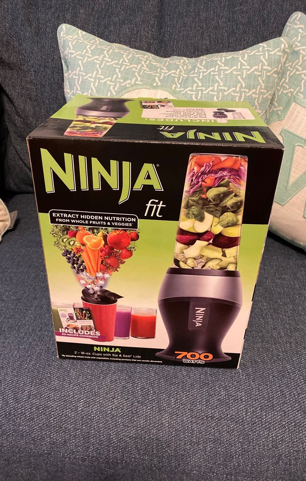 Brand new in box ninja fit blender ninja cups ninja
