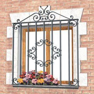 Resultado de imagem para rejas de ventanas en hierro - Rejas de hierro forjado ...