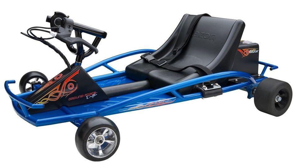 razor ground drifter electric go kart kids car rod racing mini gokart bike