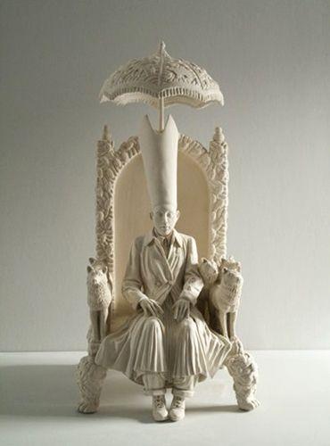 Sculpture by Tricia Cline {triciacline.com}.