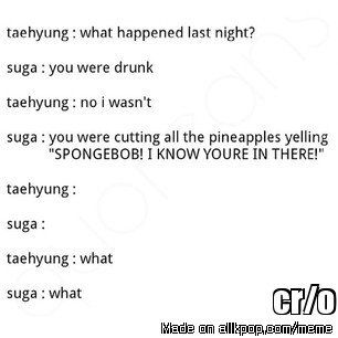 What Happen When Taehyung Get Drunk   allkpop Meme Center