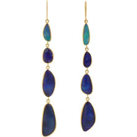Pippa Small Opal Four-Drop Earrings at Barneys.com