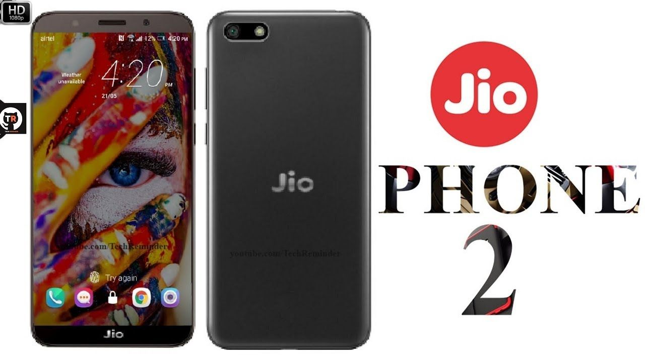 Jio Phone 2 Introduction concept (2018) ᴴᴰ Phone