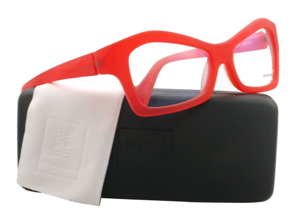 1a77269b65 NEW Alain Mikli Eyeglasses AL 0929 Red 3010 AL0929 54mm 350.00 ...