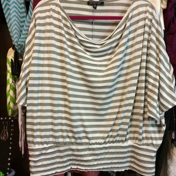 2x Slouch Top W Banded Bottom Good 4 Hiding Flaw Clothe Design Fashion Tops Custom Paraphrase Clothing