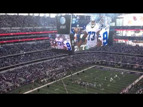 Dallas Cowboys stadium intro - YouTube