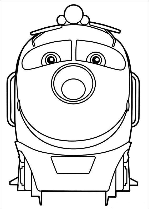 Chuggington Tegninger til Farvelægning 2 | Tegninger | Pinterest