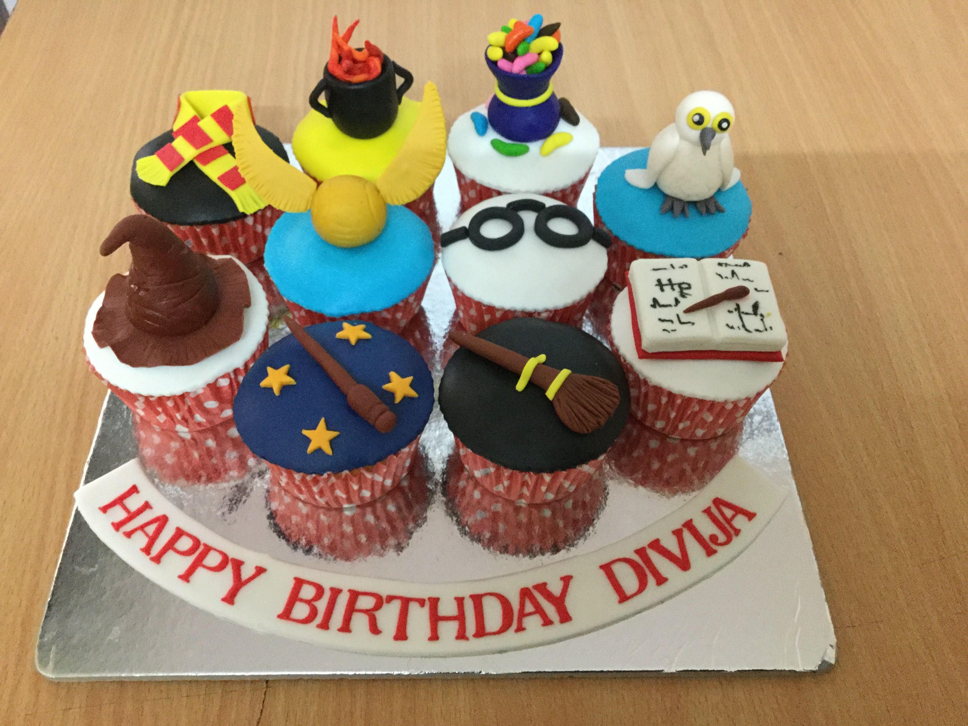 Pin by Miras Dial A Cake on Harry Potter Online birthday