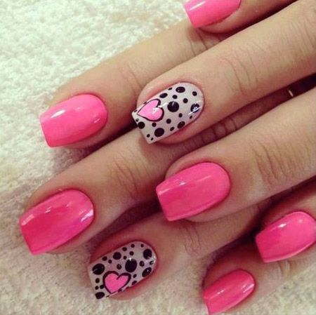 Cool 20 Heart Nail Designs - Cool 20 Heart Nail Designs Nails And Polish  Pinterest Beauty - Heart Design Nails Graham Reid