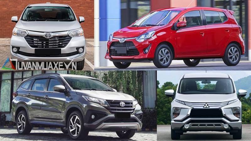 Doanh số bán hàng trong tháng đầu tiên của 4 dòng xe hoàn