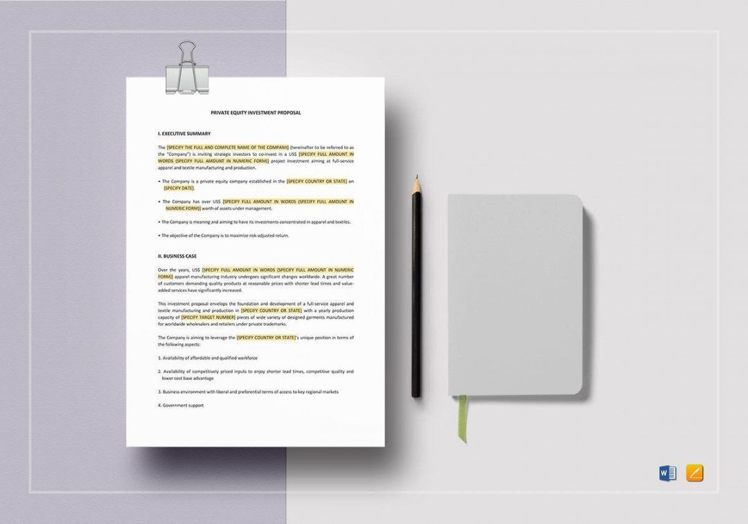 Real Estate Investment Proposal Template Proposal Templates Investing Investment Portfolio Real estate investment proposal template