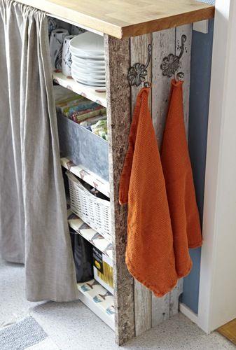 EN MI ESPACIO VITAL  Muebles Recuperados y Decoración Vintage  Una cocina  con madera reciclada   A kitchen with reclaimed wood   91a6d412b173