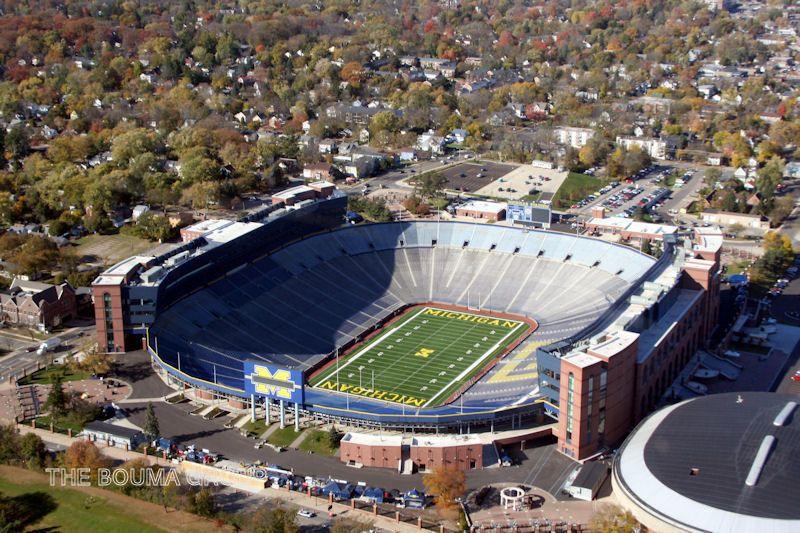 University Of Michigan U0027Big Houseu0027 Football Stadium, Ann Arbor