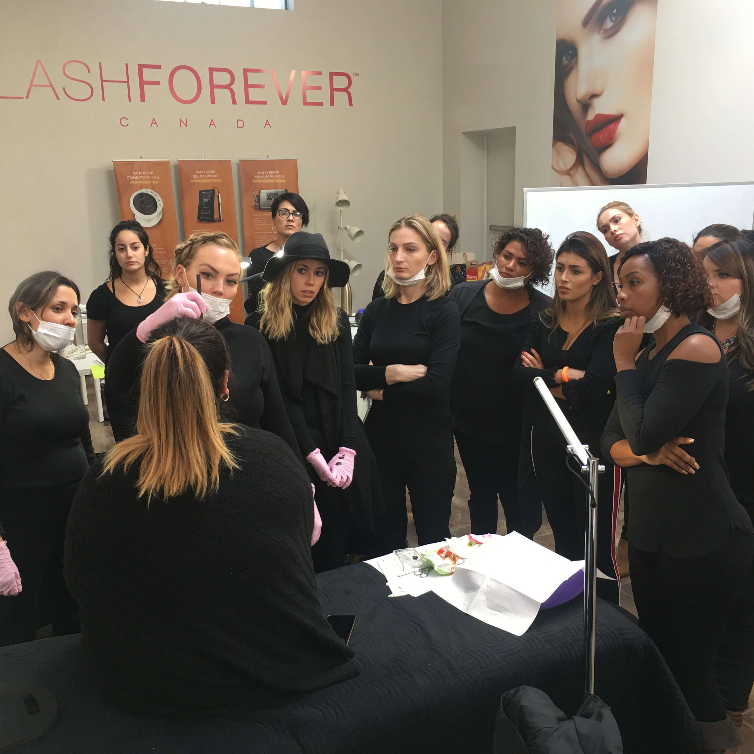 Lashforever Canada has a collection of Accredited Training