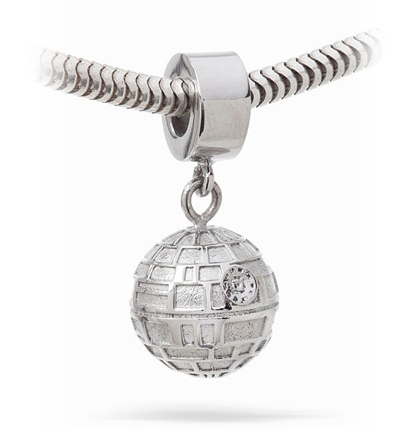Star Wars Death Star Charm Bead for if I actually liked those