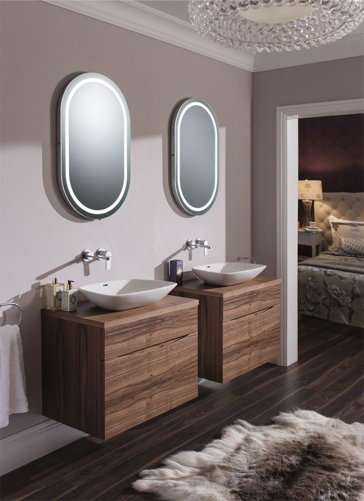 Master En Suite Glide Ii American Walnut From Bauhaus Bathrooms