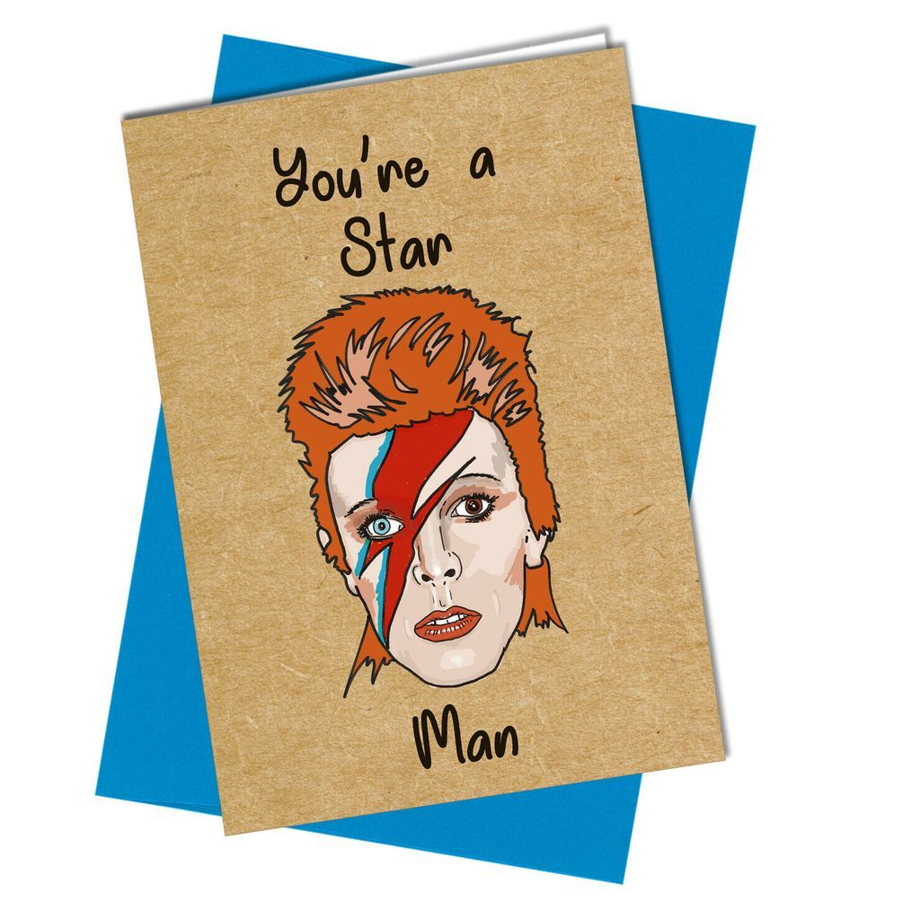 1032 You're A Star Man in 2020 Friendship cards