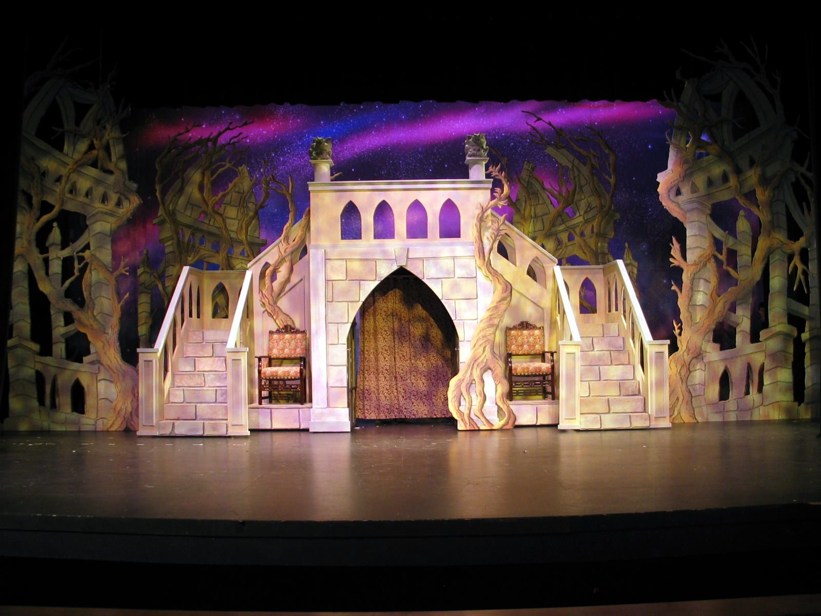 Castle Interior Design Set disney's beauty and the beast set, costume, prop rental | disney's