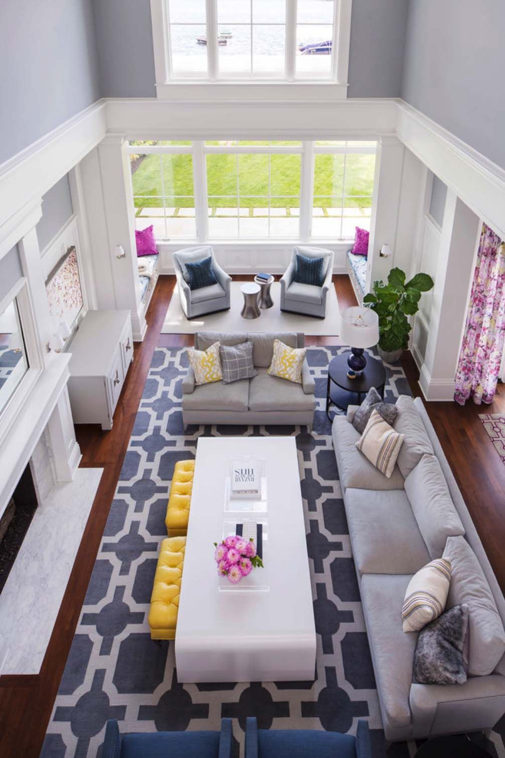 rectangular living room ideas on dreamy coastal inspired waterfront home in washington state rectangular living rooms narrow living room livingroom layout narrow living room