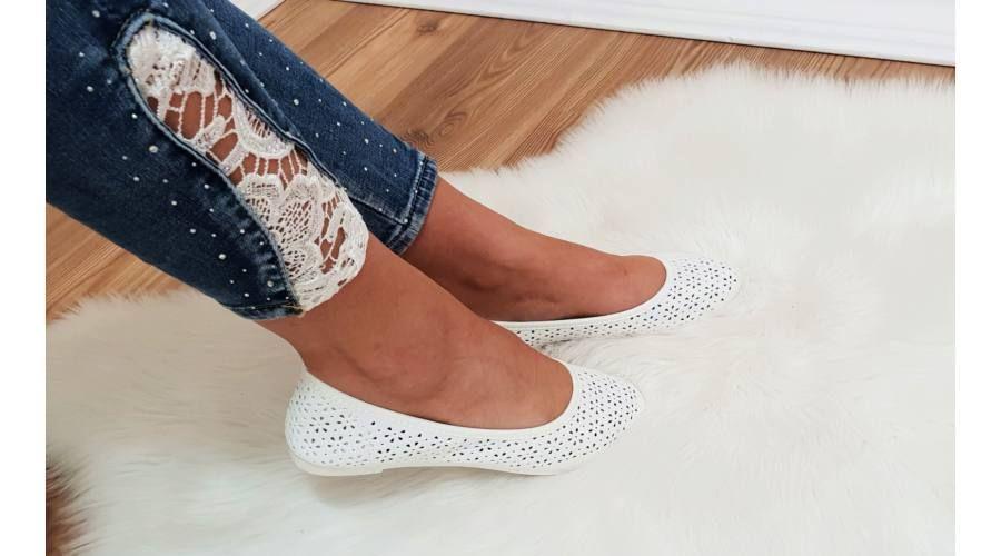 9913de4c3f Virágmintás balerinacipő - Cipő - Luna Gardrobe Női ruha WebÁruház, Akciós  - olcsó női ruha