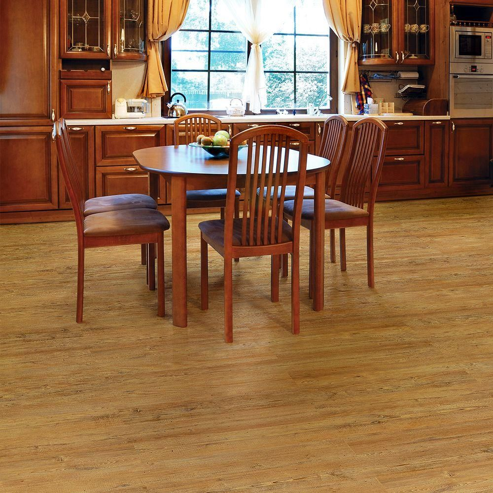 TrafficMASTER Allure New Country Pine Resilient Vinyl