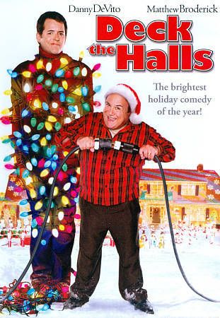 Deck the Halls DVD Matthew Broderick Danny DeVito Christmas ...