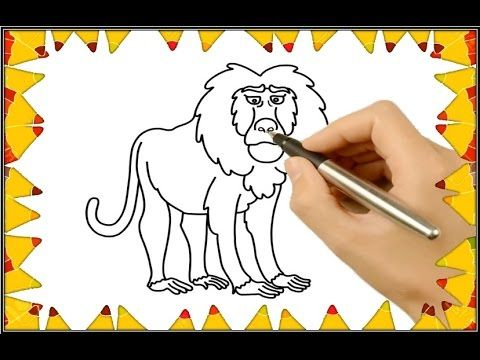 Drawing Lion How To Draw Coloring Ideas For Kids Lions For Kids Drawing For Kids Children Sketch