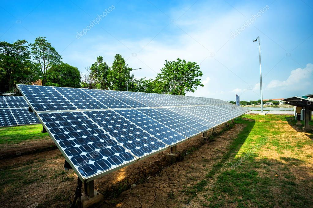 Solar Panel On Blue Sky Background Alternative Energy Concept Clean Energy Green Energy 283326038 In 2020 Solar Panels Blue Sky Background Solar