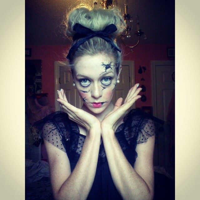 Makeup by HJ: Broken China Doll #specialeffects #chinadoll #scary ...