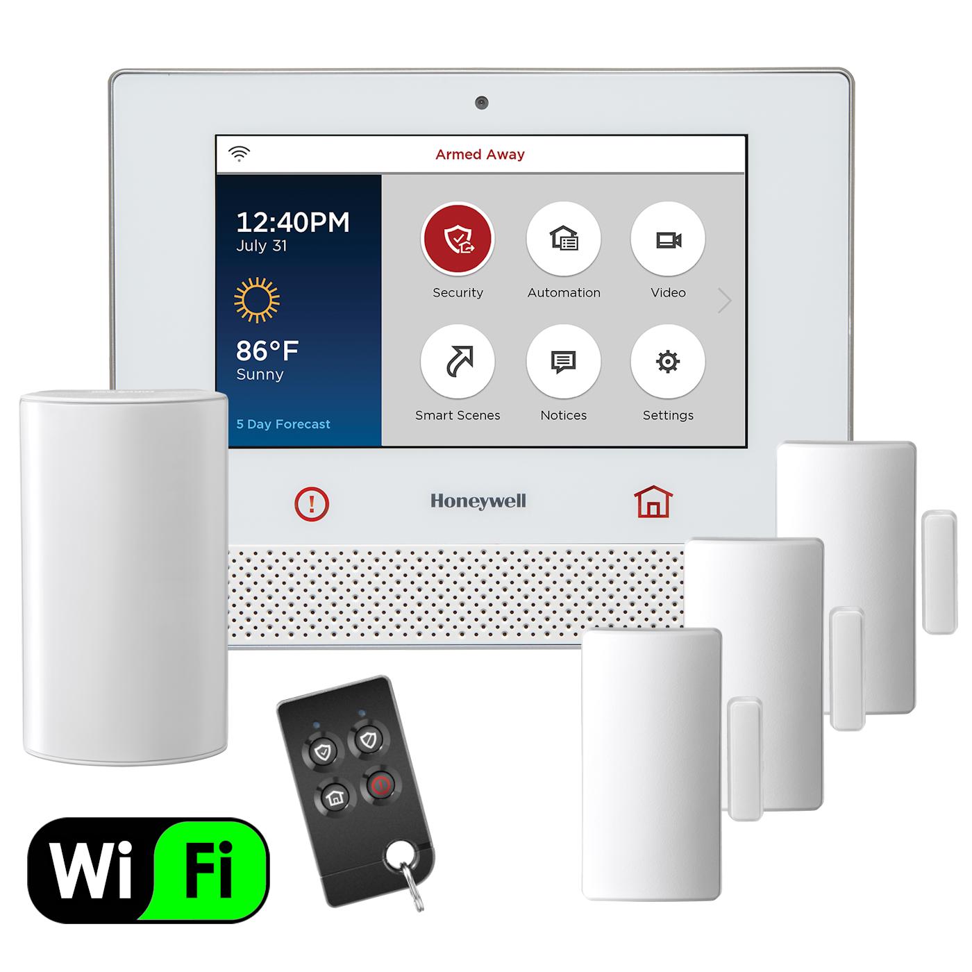 Honeywell Lyric LCP500-L Wireless Touchscreen Controller Alarm Panel