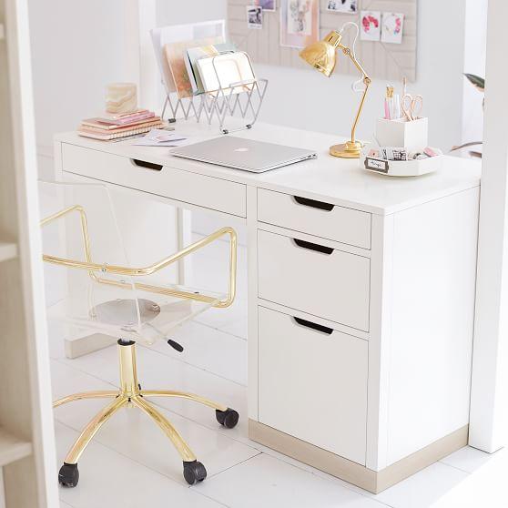 Rhys Desk White Desk Bedroom Bedroom Design Bedroom Desk