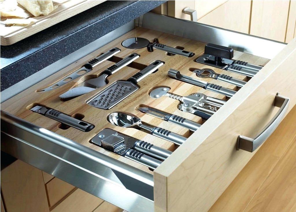 Kitchen Drawer Organizer Ideas Popular Kitchen Drawer Dividers